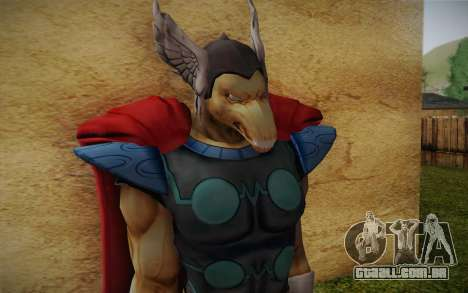 Beta Ray Bill para GTA San Andreas terceira tela