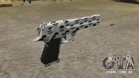 Pistola Desert Eagle crânio para GTA 4 segundo screenshot
