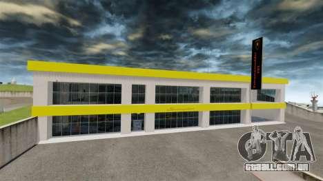 Exposição de carros Lamborghini para GTA 4