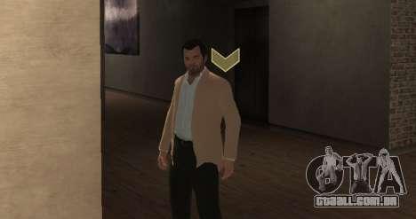 Michael De Santa from GTA V para GTA 4 terceira tela