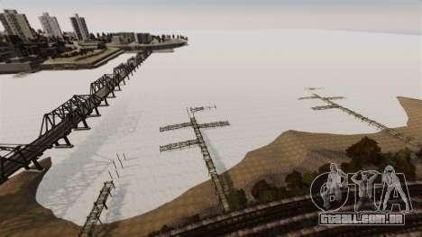Água congelada para GTA 4 sexto tela