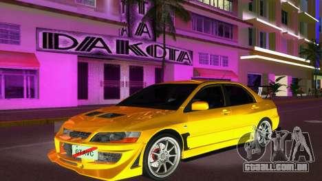 Mitsubishi Lancer Evolution VIII Type 8 para GTA Vice City