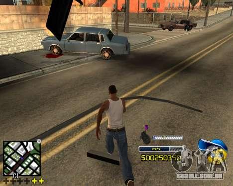 C-HUD by Alex-Castle para GTA San Andreas terceira tela