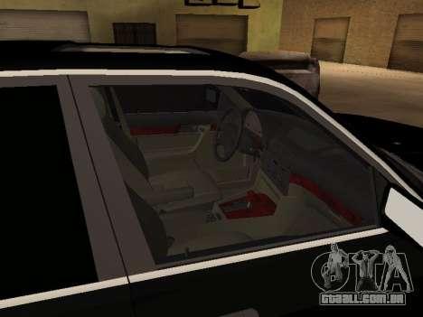BMW 520i e34 para GTA San Andreas vista traseira