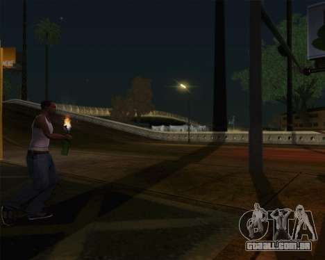 Champanhe para GTA San Andreas quinto tela