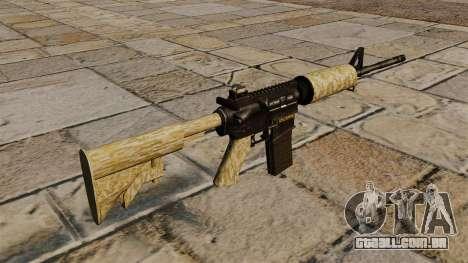 Carabina automática M4A1 deserto para GTA 4 segundo screenshot