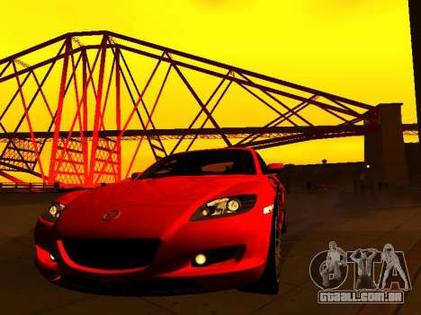 ENBSeries with View Distance para GTA San Andreas quinto tela
