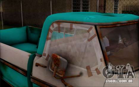 Ford F-150 Old Crate Edition para GTA San Andreas vista traseira