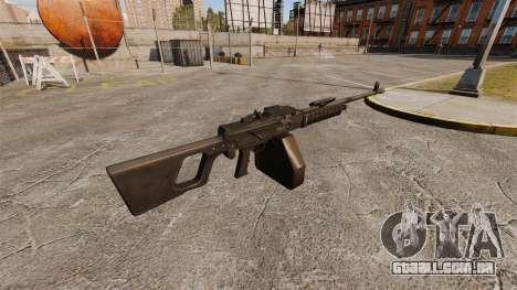 QJY-88 geral finalidade metralhadora para GTA 4 segundo screenshot