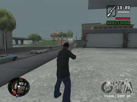 Novo capô e ícones no mapa para GTA San Andreas sexta tela