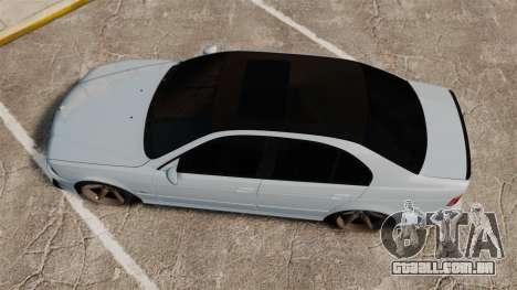 BMW M5 E39 2003 para GTA 4 vista direita