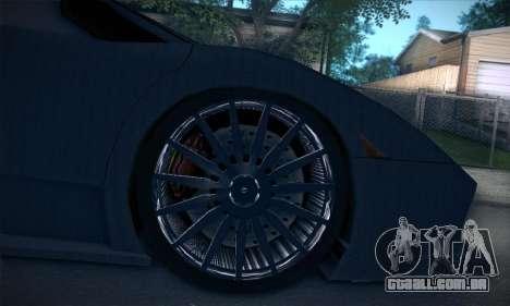 Lamborghini Murcielago GT Carbone para GTA San Andreas interior