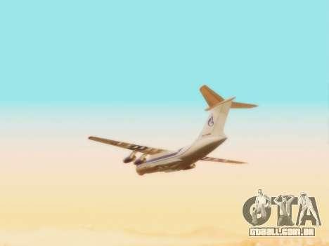 Il-76td Gazpromavia para GTA San Andreas vista interior