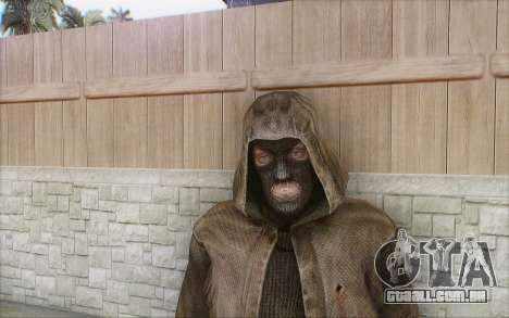 Bandido com o manto para GTA San Andreas segunda tela