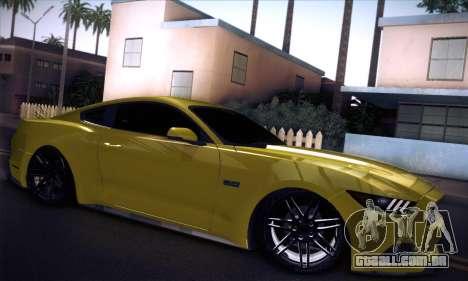 Ford Mustang 2015 Swag para GTA San Andreas vista direita