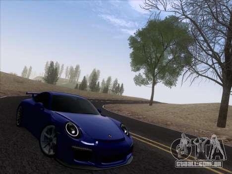 Porsche 911 GT3 2014 para GTA San Andreas vista direita