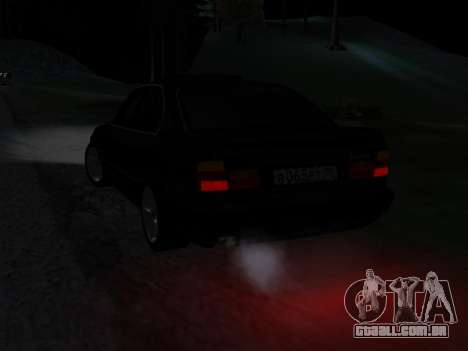 BMW 525 E34 para GTA San Andreas vista superior