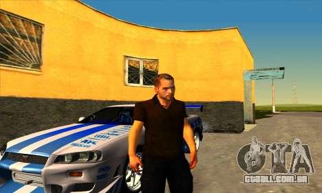 Paul Walker para GTA San Andreas segunda tela