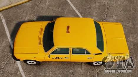 Gaz-31029 táxi para GTA 4 vista direita