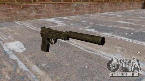 M9 autocarregável pistola com silenciador para GTA 4