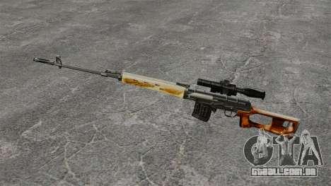 Dragunov sniper rifle v1 para GTA 4 terceira tela