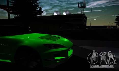 Honda S2000 Amuse GT1 para GTA San Andreas vista interior