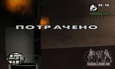 Crack irradiado (FARGUS) para GTA San Andreas terceira tela
