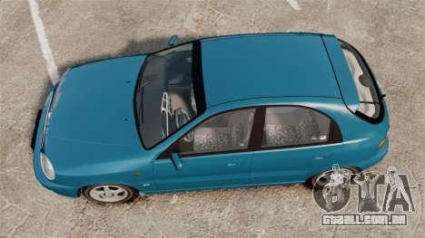 Daewoo Lanos PL 2001 para GTA 4 vista direita