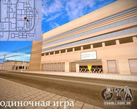 Novas texturas Interior da prefeitura para GTA San Andreas décima primeira imagem de tela
