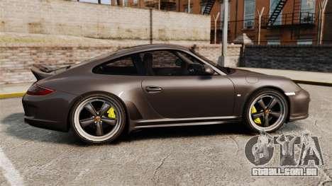 Porsche 911 Sport Classic 2010 para GTA 4 esquerda vista