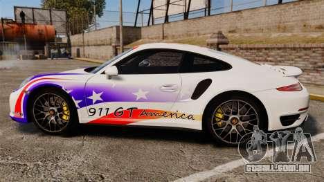Porsche 911 Turbo 2014 [EPM] America para GTA 4 esquerda vista