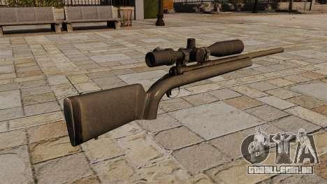 O M24 sniper rifle para GTA 4 segundo screenshot