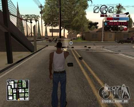 C-HUD by Braun para GTA San Andreas