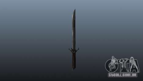 Dishonored Corvos Blade para GTA 4