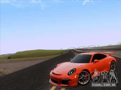 Porsche 911 GT3 2014 para GTA San Andreas esquerda vista