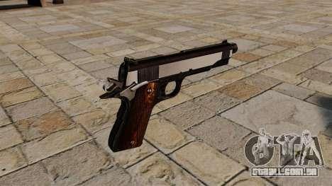 Pistola Colt 1911 Snake Eater para GTA 4 segundo screenshot