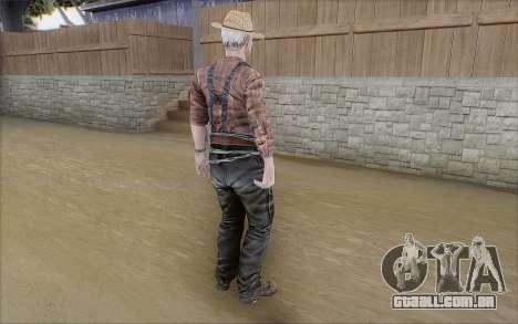 Agricultor para GTA San Andreas terceira tela