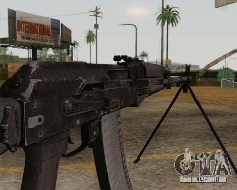 O RPK-74 m para GTA San Andreas terceira tela
