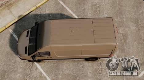 Mercedes-Benz Sprinter 2500 2011 v1.4 para GTA 4 vista direita