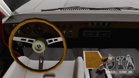 Dodge Charger 6o para GTA San Andreas traseira esquerda vista