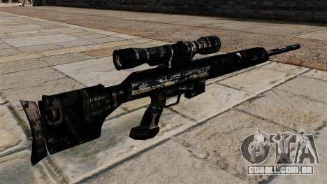 Rifle sniper em uniformes de camuflagem azul esc para GTA 4 segundo screenshot