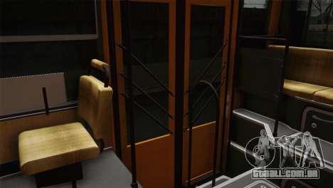 LIAZ 5256.00 para GTA San Andreas vista interior