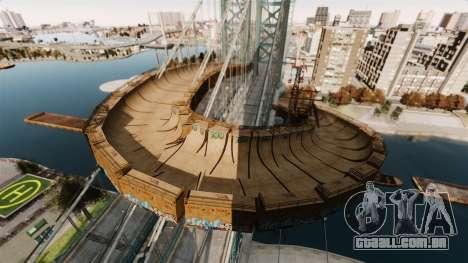Biggest Track para GTA 4 quinto tela