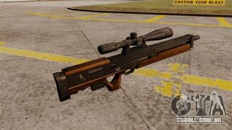 O rifle sniper Walther WA 2000 para GTA 4 segundo screenshot