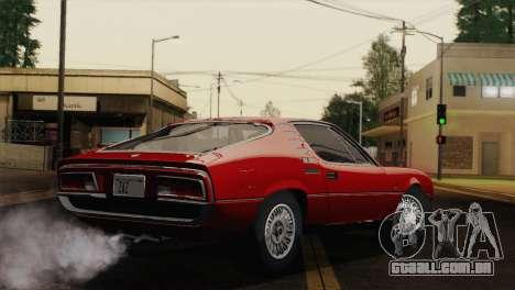 Alfa Romeo Montreal (105) 1970 para GTA San Andreas esquerda vista