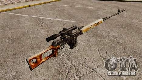Dragunov sniper rifle v1 para GTA 4 segundo screenshot