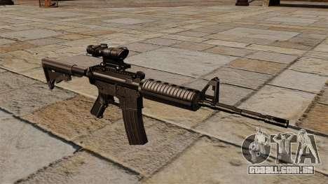 Carabina automática M4A1 ACOG para GTA 4