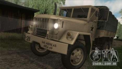 AM General M35A2 1950 para GTA San Andreas