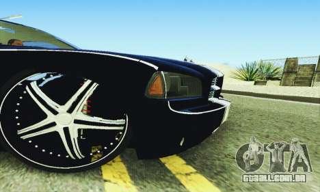 Dodge Charger DUB para GTA San Andreas vista superior