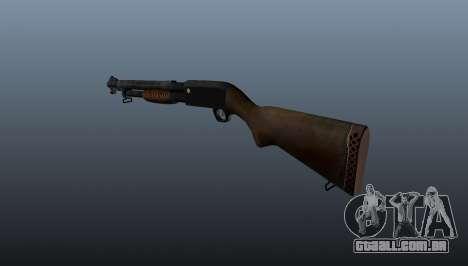 M1897 Trenchgun espingarda para GTA 4 segundo screenshot
